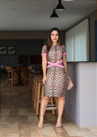 baca368b652 Vestido Talula Neon Pink - Moda Enncante - Karina Rampaso - Saias ...