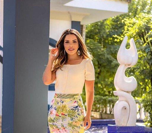 Blusa Beatriz Creme  - Moda Feminina