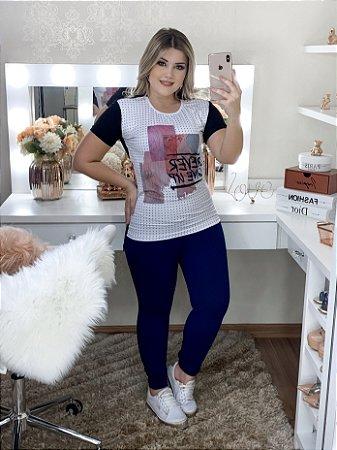 T-Shirt Poa- Moda Feminina