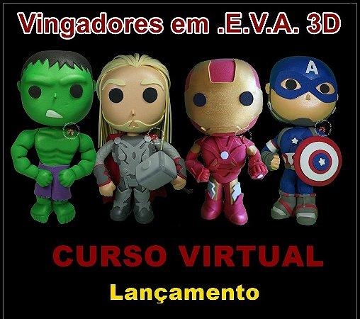 CURSO VIRTUAL VINGADORES EM E.V.A. 3D
