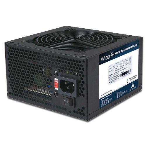 Fonte ATX 600W Wisecase WS-600 1X12