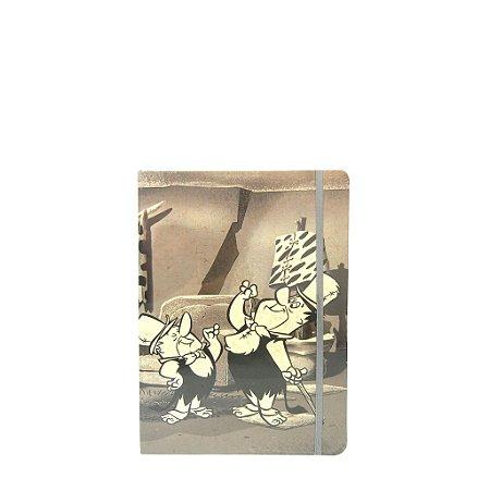 Bloco de  Anotações Pequeno - Barney e Fred Flintstones
