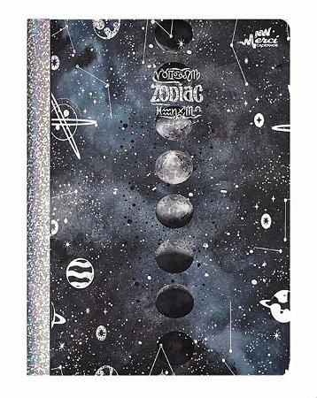 Caderno Brochura Pautado Zodiac