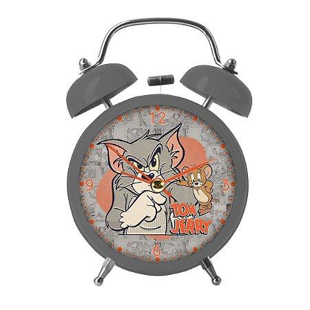 Relógio Despertador Tom & Jerry