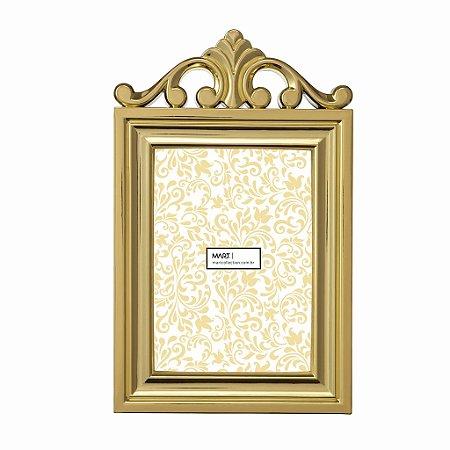 Porta Retrato Clássico 13x18cm - Dourado