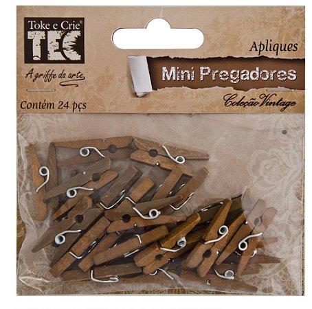 Aplique Mini Pregadores - Vintage