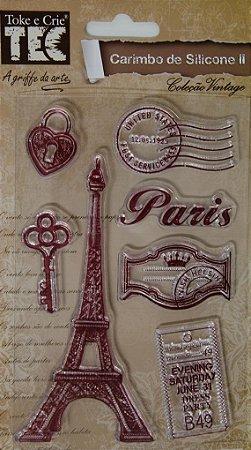 Carimbo de Silicone - Paris
