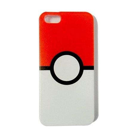 Capa Case Pokébola- IPHONE 5/5S