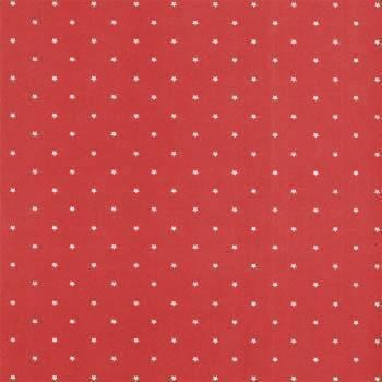 Folha de Scrapbook Estrela Pequena Vermelha