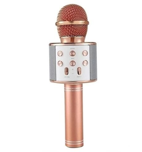 Microfone Bluetooth Sem Fio Rose