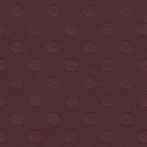 Folha de Scrapbook Cardstock Bolinhas Vinho