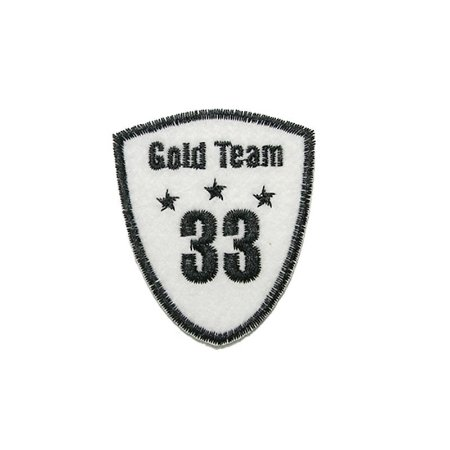 Patch Escudo Gold Team 33