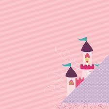 Folha de Scrapbook Castelo