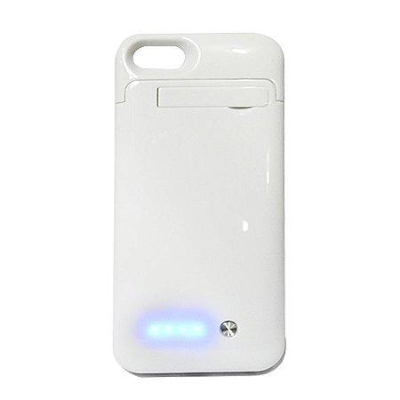 Capa Carregadora para Iphone 5 Branca