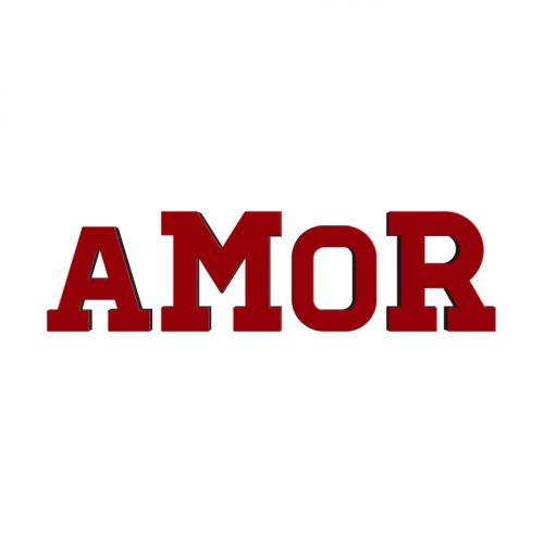 Letras Decorativas Amor