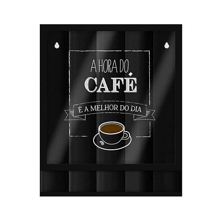 d3f7ab4d9 Quadro Porta Cápsulas Hora do Café- Papel Picado - Papel Picado ...