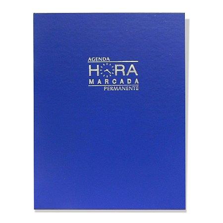 Agenda Hora Marcada Permanente Azul