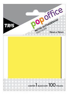 Notas Autoadesivas Amarelas 76mm