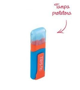 Borracha Caneta Azul