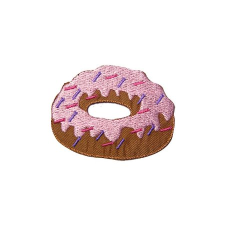 Patch Rosquinha Donut Rosa Claro