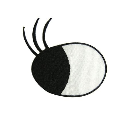 Patch Olho Virado com Cílios