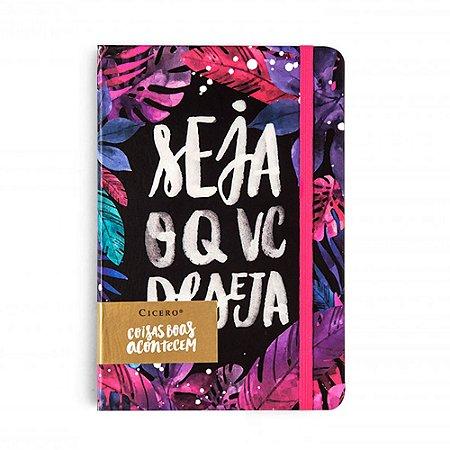Caderneta Seja O Que Você Deseja