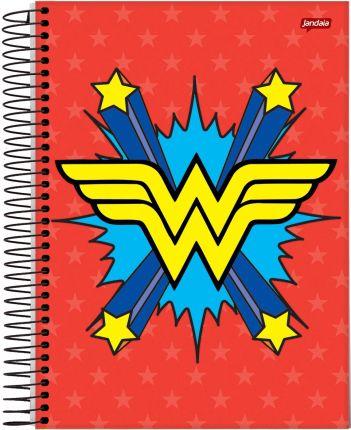 Caderno Símbolo Mulher Maravilha 96 Folhas