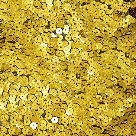 Mini Paetê Dourado