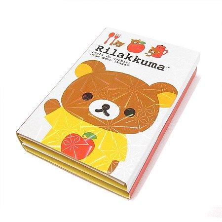 Bloquinho de Post It Urso Vermelho