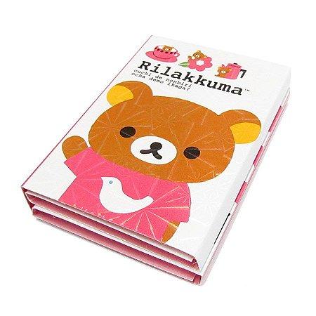 Bloquinho de Post It Urso Rosa