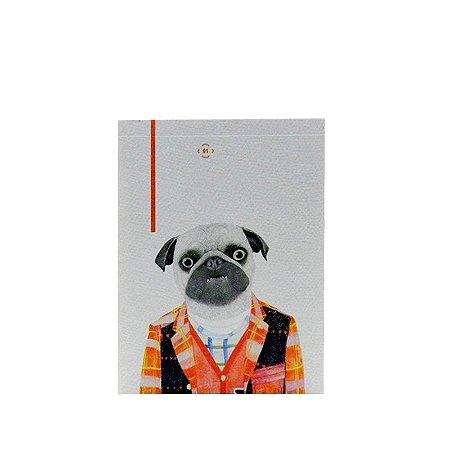 Bloquinho Cachorro Pug
