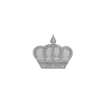Patch  Coroa Prata