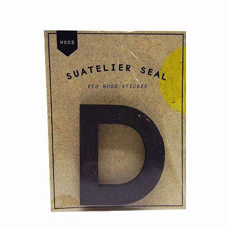 Adesivo Alfabeto Letra D