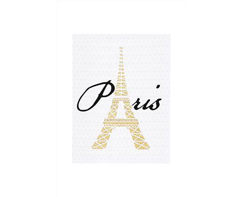 Quadro em Canvas Paris