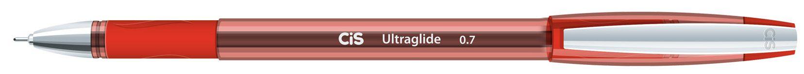 Caneta Ultraglide 0.7 Vermelha