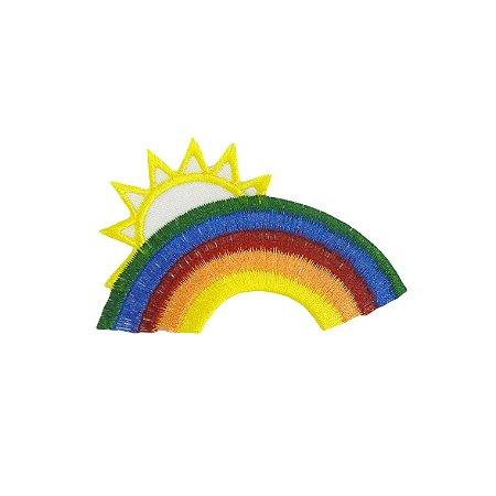 Patch Arco Ìris com Sol