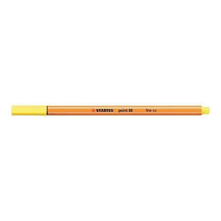 Stabilo Point 88/24 Amarelo Limão Pastel