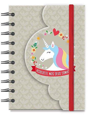 Caderneta Dobrável Unicórnio