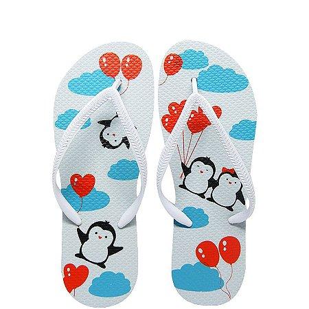 Chinelo Pinguim - Juntos Para Sempre - 35/36
