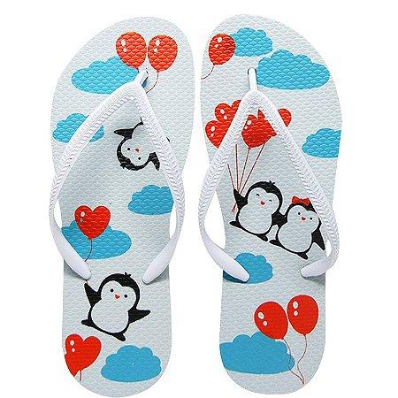 Chinelo Pinguim - Juntos Para Sempre - 39/40