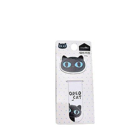 Marcador de Página Gato Oreo