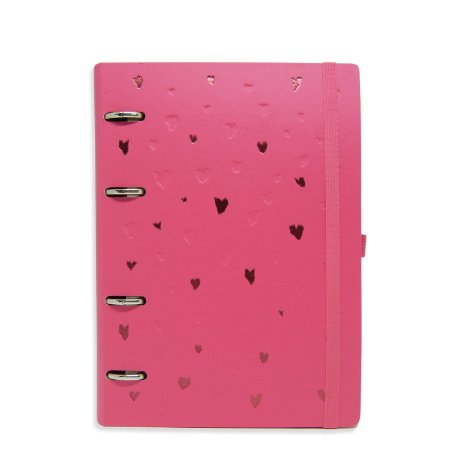Planner Organizador - Corações Rosa