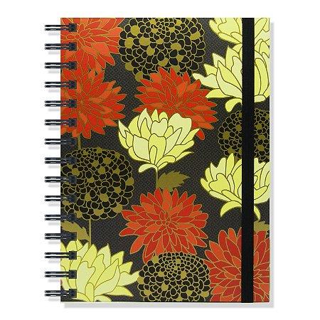 Caderno Belle Preto 180 Folhas