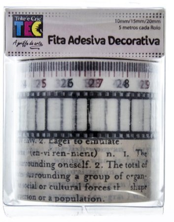 Conjunto Fita Adesiva Washi Tape Filme
