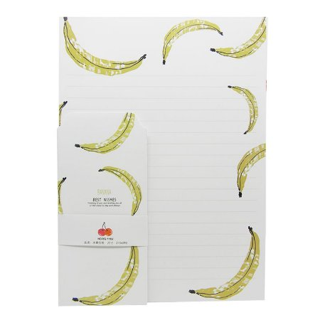 Papel de Carta Banana