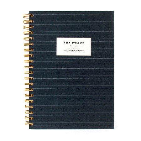 Caderno Espiral Azul 5 Matérias