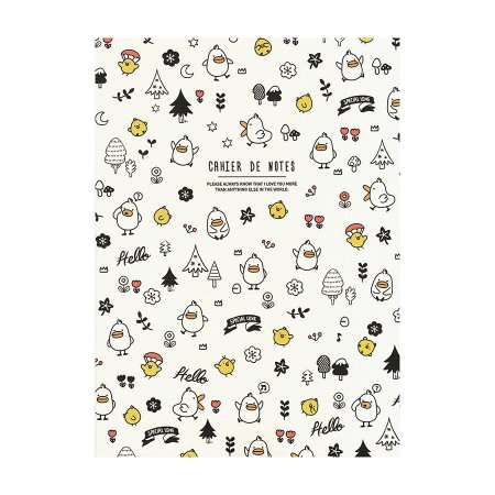 Caderno Brochura com Pauta Patinhos