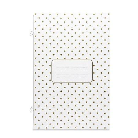 Refil Planner Organizador 162x240mm Caderno Avulso Bolinha