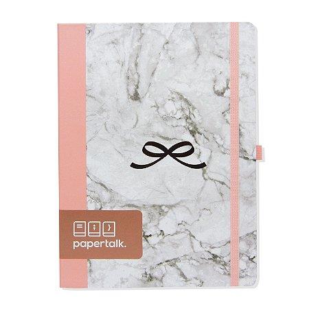 Caderno Brochura Love Marmorizado Pautado