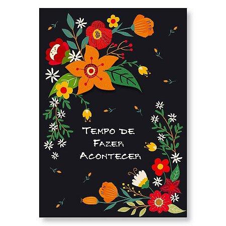 Cartão Felicitações Fazer Acontecer Pequeno